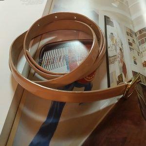 J.Crew Patent Leather Belt Size M